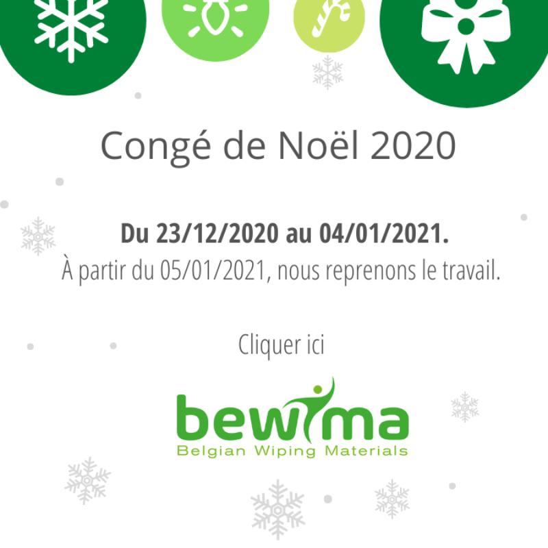 CHRISTMAS HOLIDAYS 2020 FR Bewima popup